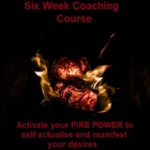 Unleash Your Fire Coaching – Six Week Coaching Package